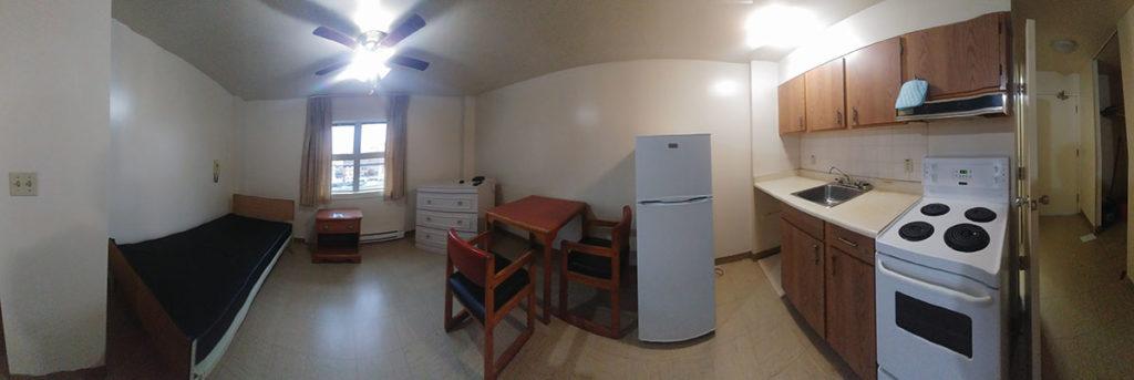 Typical Veterans Manor Suite